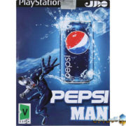 PEPSI-MAN-Play-Station-2-Game