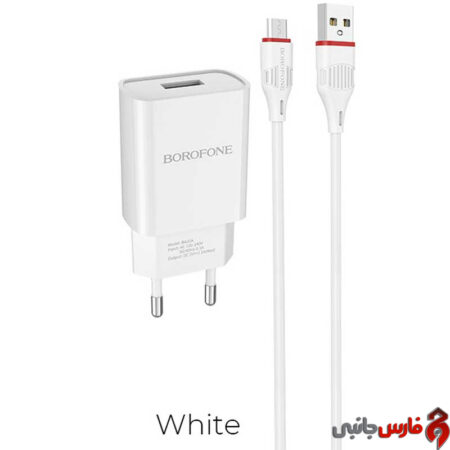 Borofone-BA20A-Sharp-wall-charger-microUSB-cable-1