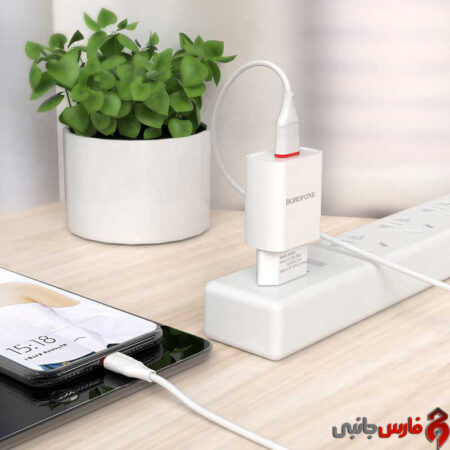 Borofone-BA20A-Sharp-wall-charger-microUSB-cable-4