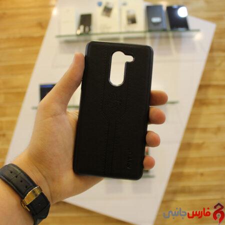 Huawei Mate 9 Lite black leather design frame, Nitu model