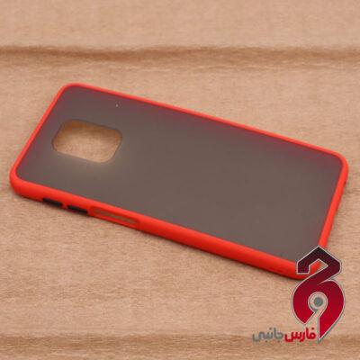 قاب PC مات شیائومی Redmi Note 9s قرمز